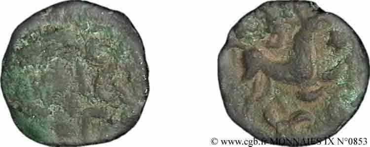 N° v09_0853 Bronze au cheval - c. 60-50 AC.