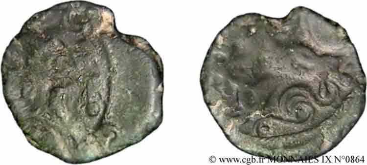 N° v09_0864 Bronze au cerf - c. 60-50 AC.