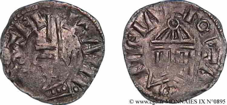 N° v09_0895 Denier - c. 1049-1100