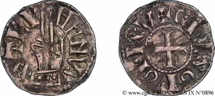N° v09_0896 Denier - c. 1049-1100