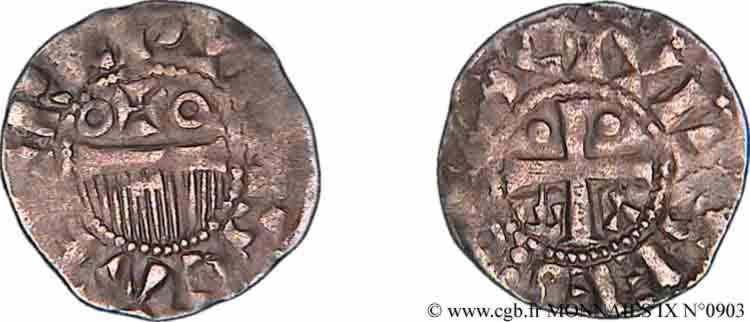 N° v09_0903 Denier - c. 1050-1100