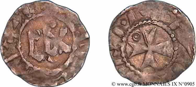 N° v09_0905 Denier - c. 1170-1200