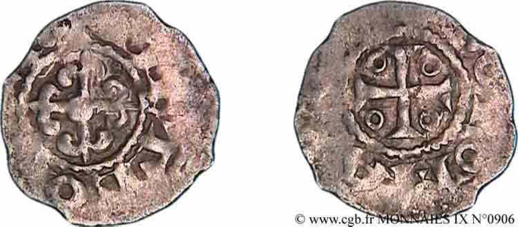 N° v09_0906 Denier - c. 1190-1250