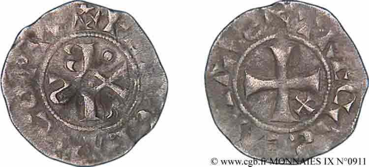 N° v09_0911 Denier - c. 1130-1150