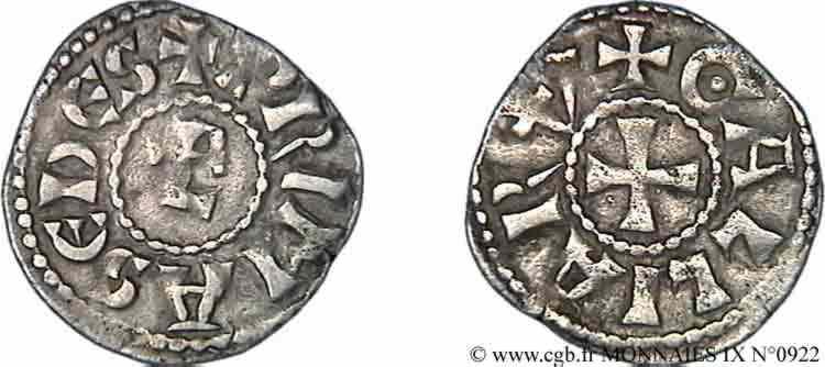 N° v09_0922 Denier - c.1100-1150