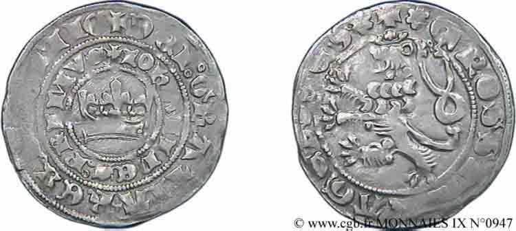 N° v09_0947 Gros de Prague - c. 1320