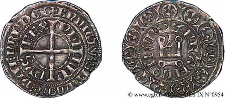 N° v09_0954 Gros à la couronne - 1/01/1337