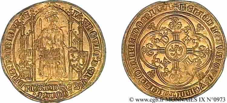 N° v09_0973 Flandre d'or - c. 1369/70