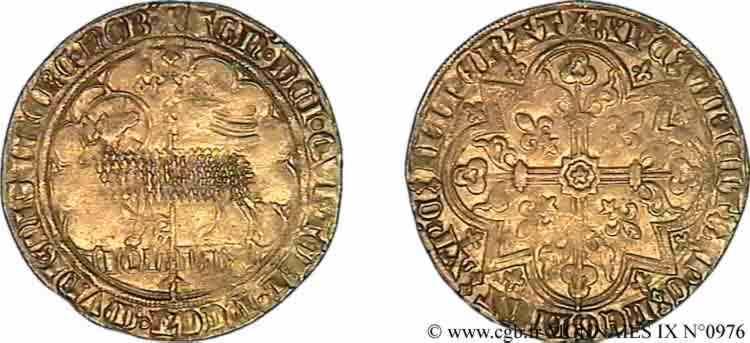 N° v09_0976 Mouton d'or - c. 1357