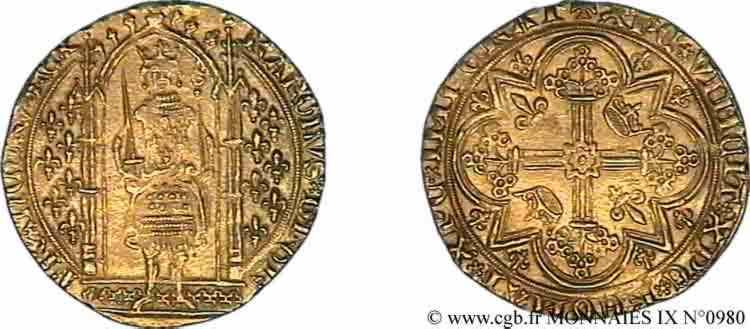 N° v09_0980 Franc à pied - 20/04/1365