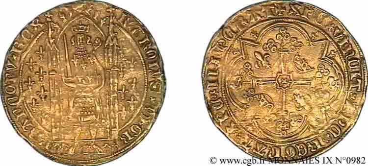 N° v09_0982 Franc à pied - 20/04/1365