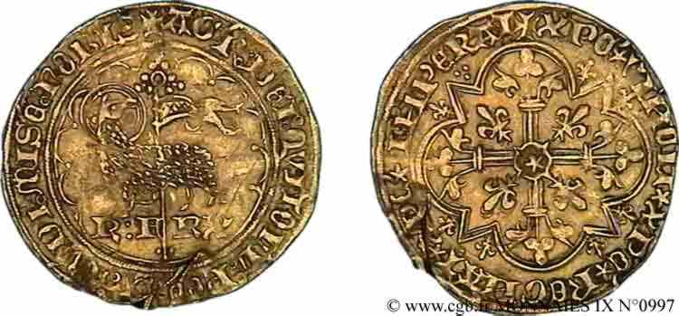N° v09_0997 Agnel d'or - 10/05/1417