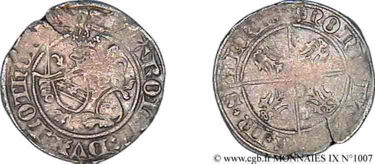 N° v09_1007 Gros - c. 1390-1430