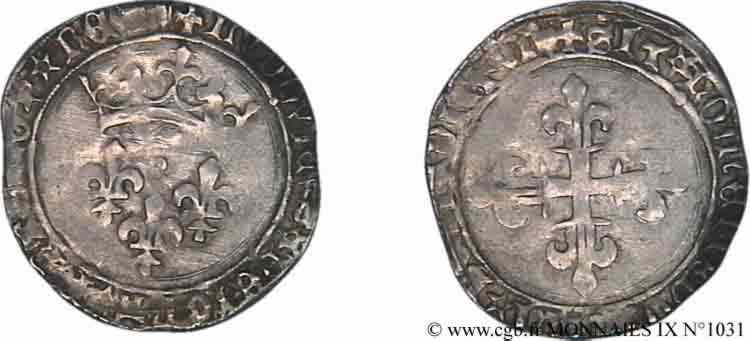 N° v09_1031 Gros de roi - 31/12/1461