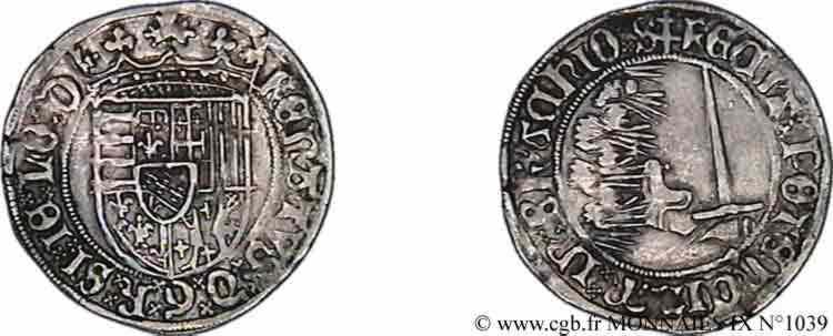 N° v09_1039 Demi-plaque - c. 1483-1500