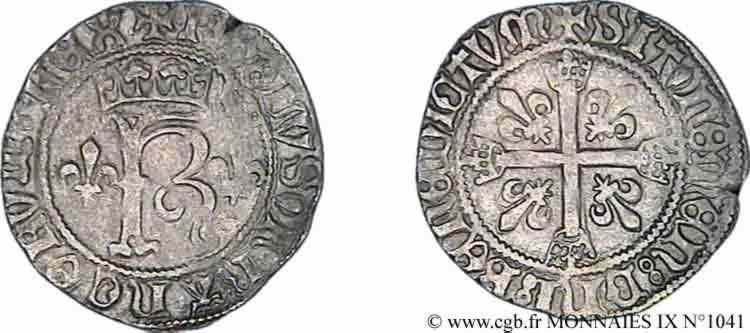 N° v09_1041 Karolus ou dizain - 11/11/1488
