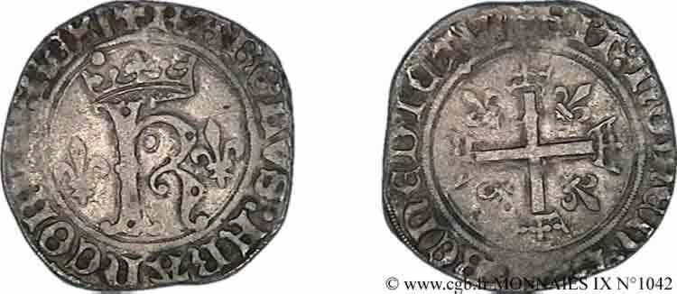 N° v09_1042 Karolus ou dizain - 11/11/1488