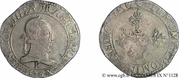 N° v09_1128 Franc au col plat - 1576