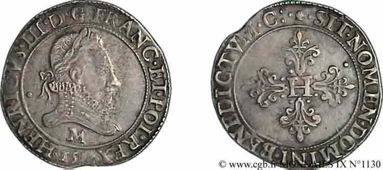 N° v09_1130 Franc au col fraisé - 1583