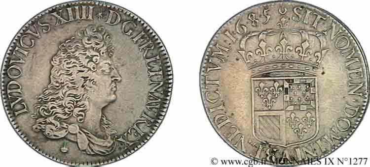 N° v09_1277 Écu de Flandre - 1685