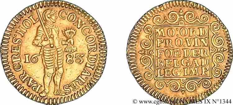 N° v09_1344 Ducat d'or - 1683