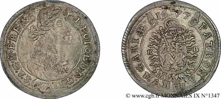 N° v09_1347 Quinze kreutzers - 1677