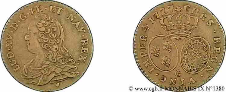 N° v09_1380 Demi-louis d'or dit