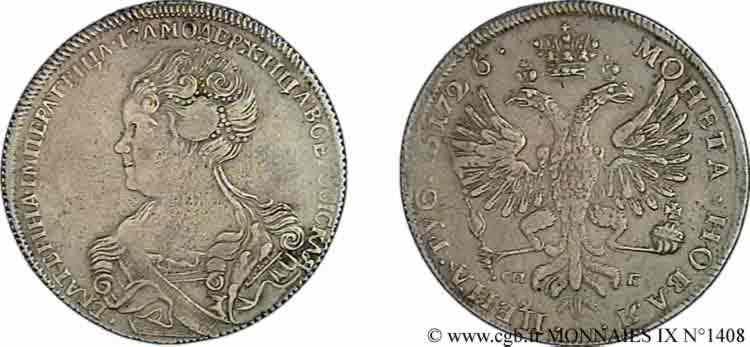 N° v09_1408 Rouble - 1726