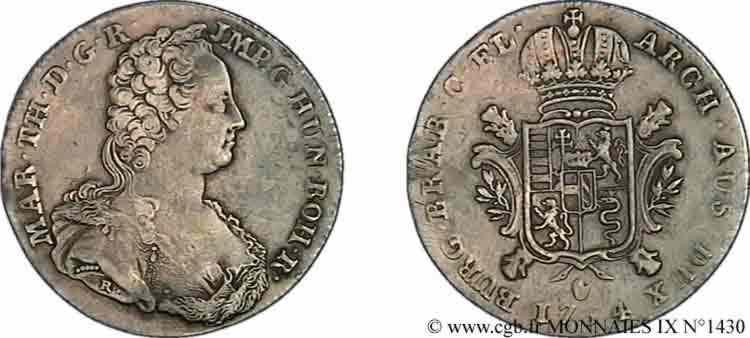 N° v09_1430 Ducaton d'argent - 1754