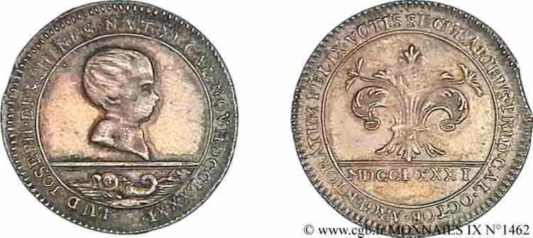 N° v09_1462 Jeton - 1781