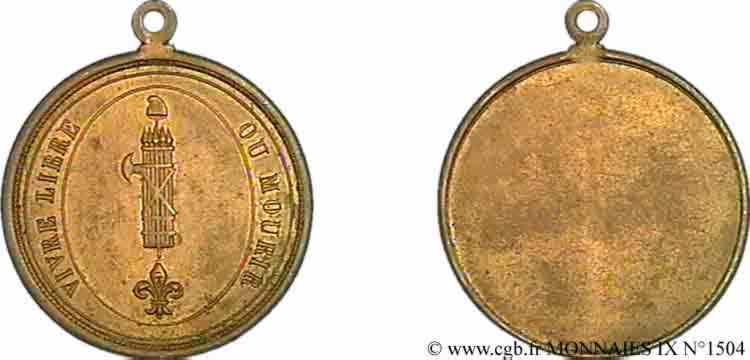 N° v09_1504 Médaille révolutionnaire -