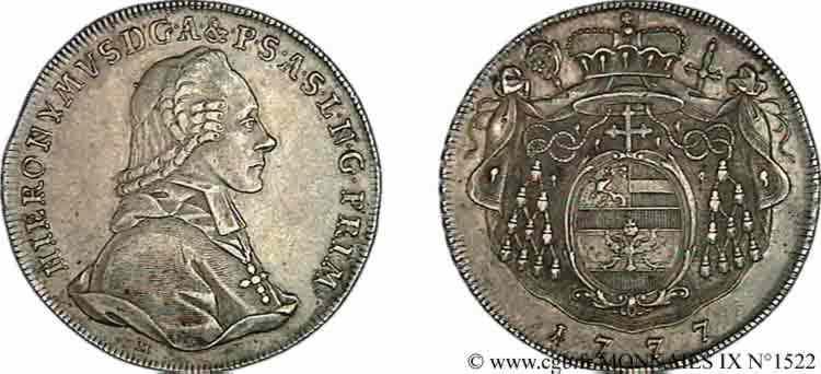 N° v09_1522 Thaler - 1777