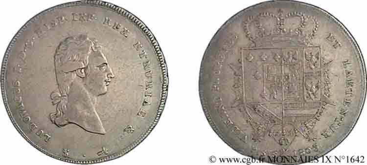 N° v09_1642 Francescone ou scudo 3e type - 1803