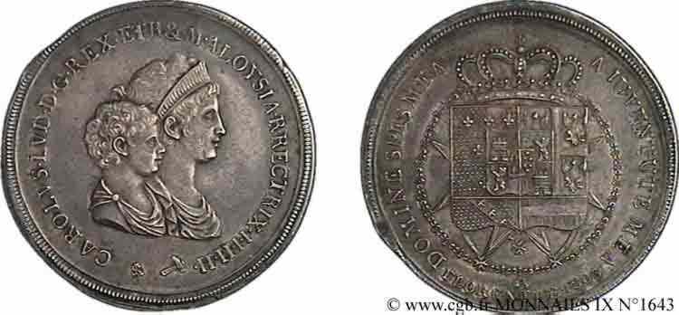 N° v09_1643 Dena ou 10 lires 1er type - 1803