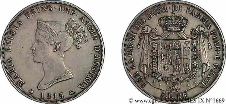 N° v09_1669 5 lires - 1815