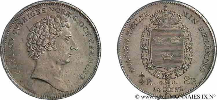 N° v09_1674 Quart de riksdaler specie - 1831
