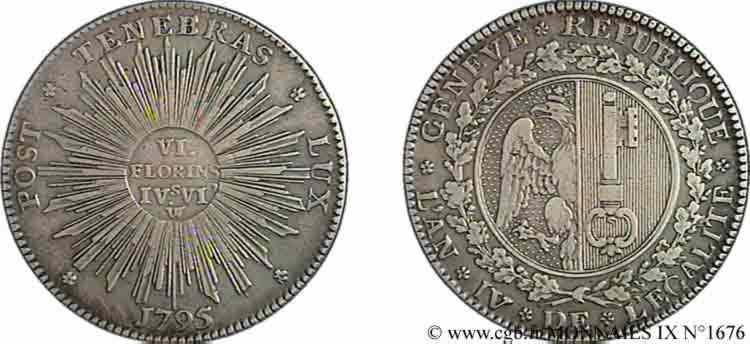 N° v09_1676 Demi-thaler - 1795