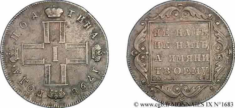 N° v09_1683 Poltina, 2e type - 1798