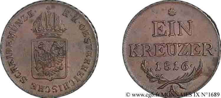 N° v09_1689 Kreutzer - 1816