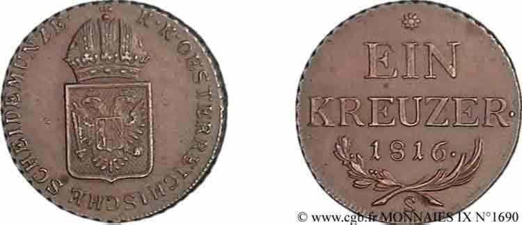 N° v09_1690 Kreutzer - 1816