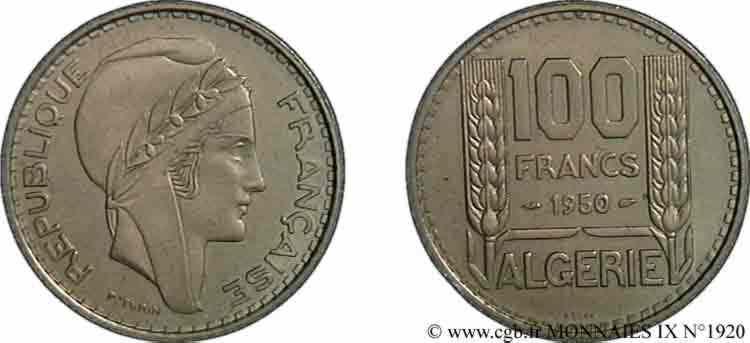 N° v09_1920 Essai de 100 francs Turin - 1950