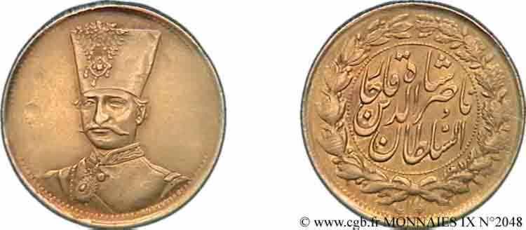 N° v09_2048 Toman en or - 1866